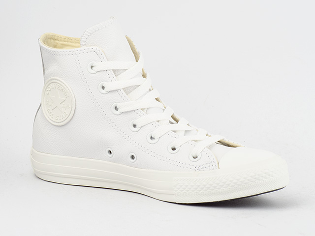 CONVERSE-SCHUHE-CHUCKS-CT-ALL-STAR-HI-BASIC-LEATHER-WHITE-136822C-WEIss-LEDER