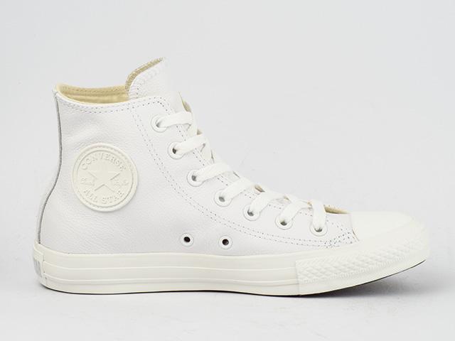 converse schuhe chucks ct all star hi basic leather white. Black Bedroom Furniture Sets. Home Design Ideas