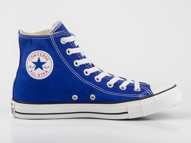converse schuhe chucks ct all star hi radio blue 142366c blau wei. Black Bedroom Furniture Sets. Home Design Ideas