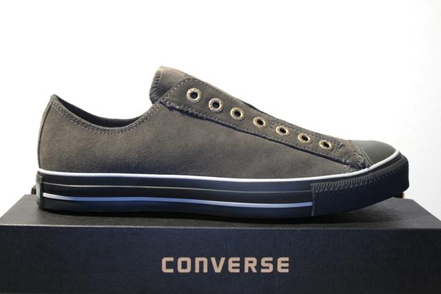 converse schuhe sneaker all star slip on beluga grau leder. Black Bedroom Furniture Sets. Home Design Ideas