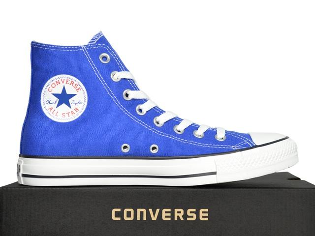 converse schuhe chucks ct all star hi blau 130123c dazzling blue ebay. Black Bedroom Furniture Sets. Home Design Ideas