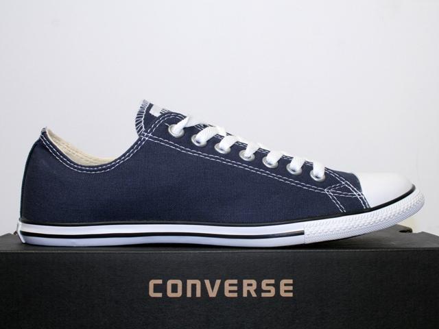converse schuhe chucks all star ox slim athletic navy blau 113892 ebay. Black Bedroom Furniture Sets. Home Design Ideas