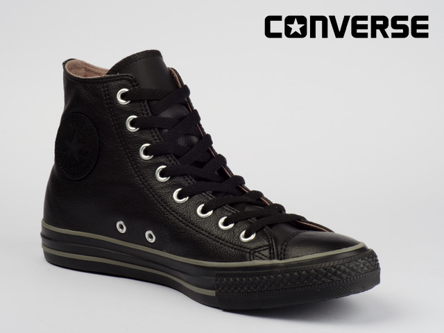converse schuhe chucks all star basic leather hi 125565c. Black Bedroom Furniture Sets. Home Design Ideas