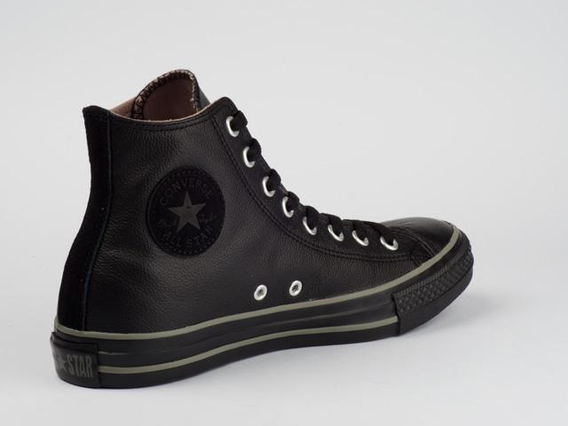 Converse Schwarz Leder