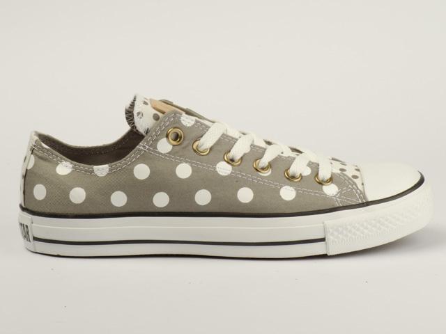 converse schuhe chucks ct all star ox 530049c polka dot. Black Bedroom Furniture Sets. Home Design Ideas