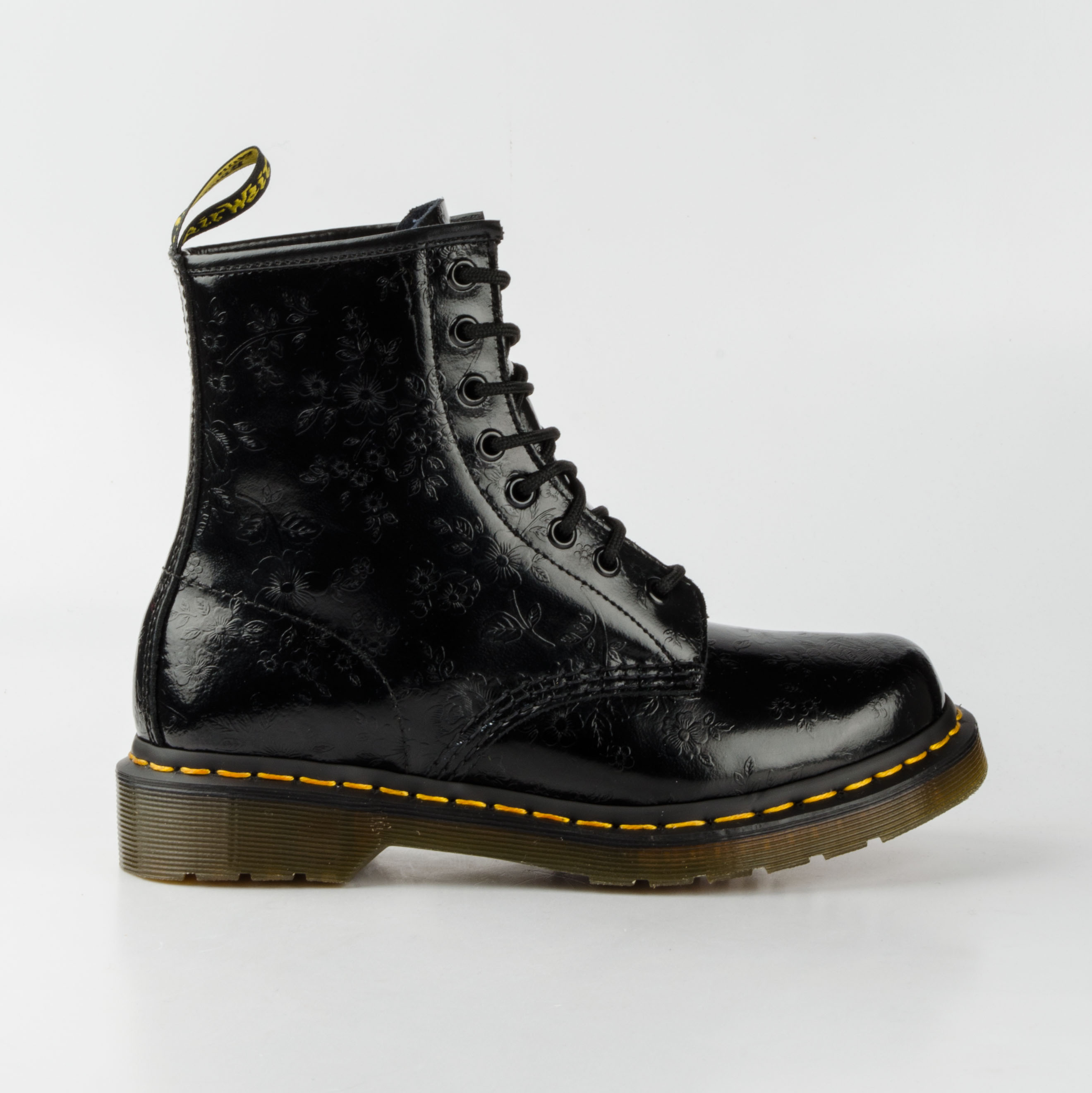 dr doc martens 1460 8 loch stiefel 8eye boots schwarz qq flowers leder 11821018 ebay. Black Bedroom Furniture Sets. Home Design Ideas