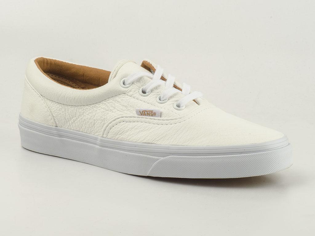 vans sneakers era vy6xewb skater premium leather white wei leder monochrom ebay. Black Bedroom Furniture Sets. Home Design Ideas