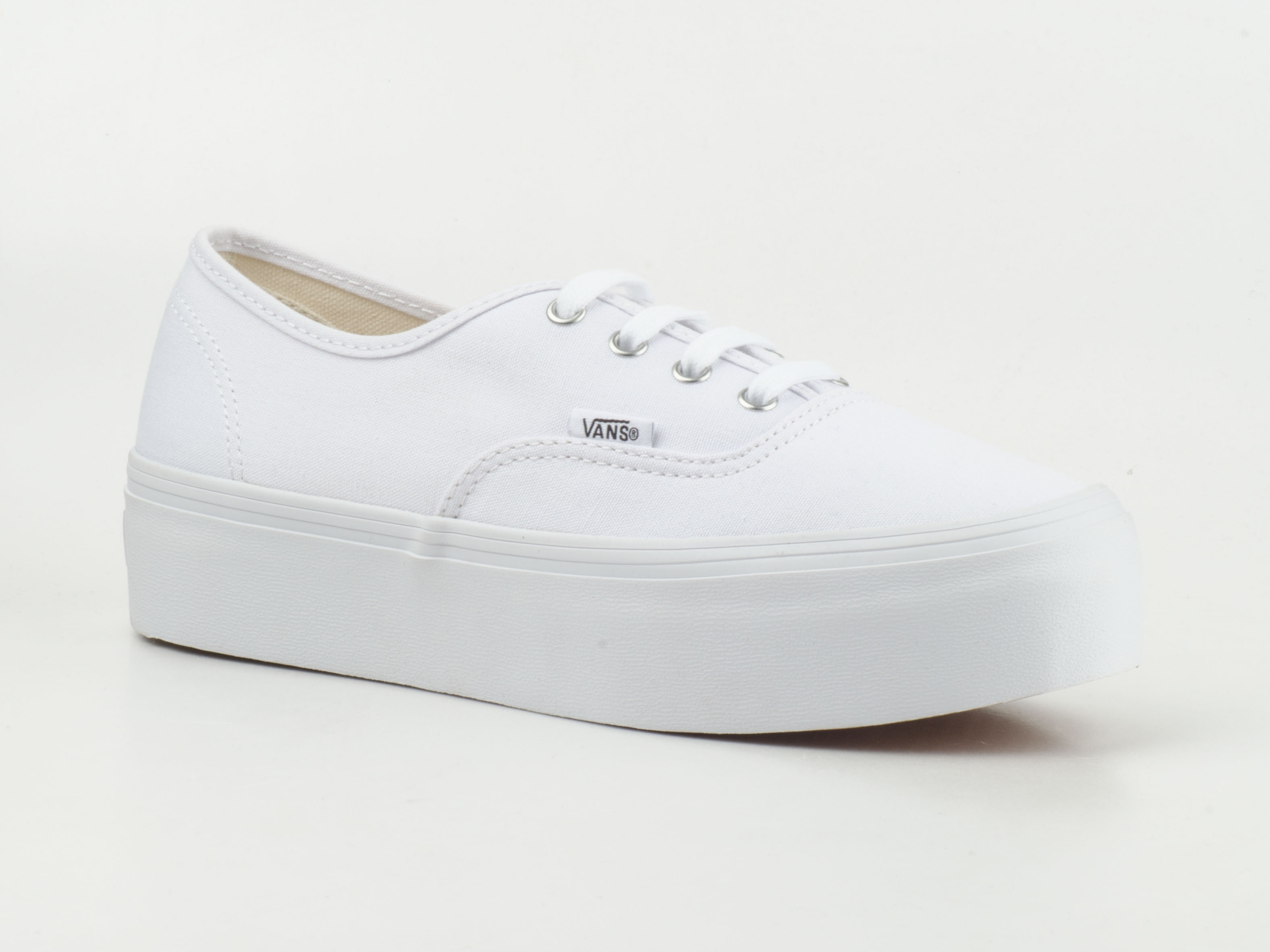 weiße vans authentic